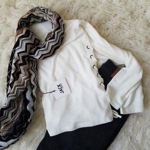 BB Dakota Sweaters - Jack by BB Dakota Side Lace Up Top